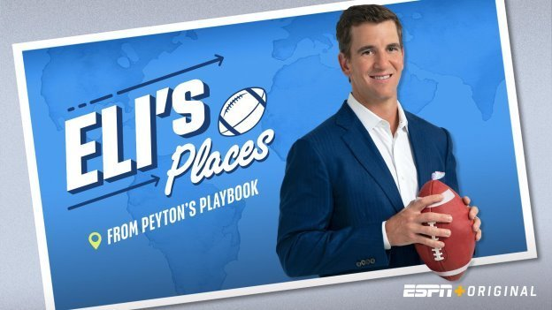 Eli's Places Debuts Today, Exclusively on ESPN+