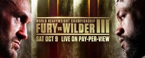 ESPN, FOX Sports Present Fury vs. Wilder III on Pay-Per-View October 9