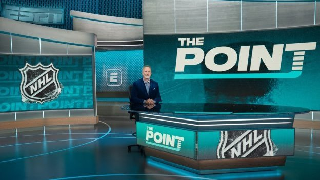 ESPN to Launch New NHL Studio Show, The Point, October 7