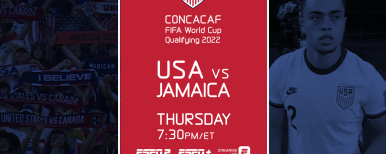 ESPN2 and ESPN+ to Present Upcoming U.S. Men's National Team FIFA World Cup Qualifying Matches