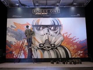 Rogue One Graffiti Wall by Viet Max #GoRogueVN