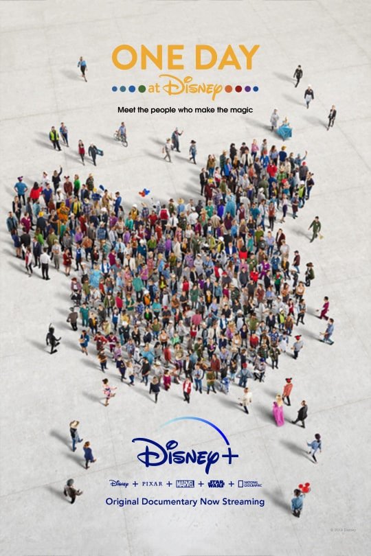 One Day at Disney - poster image - Disney+