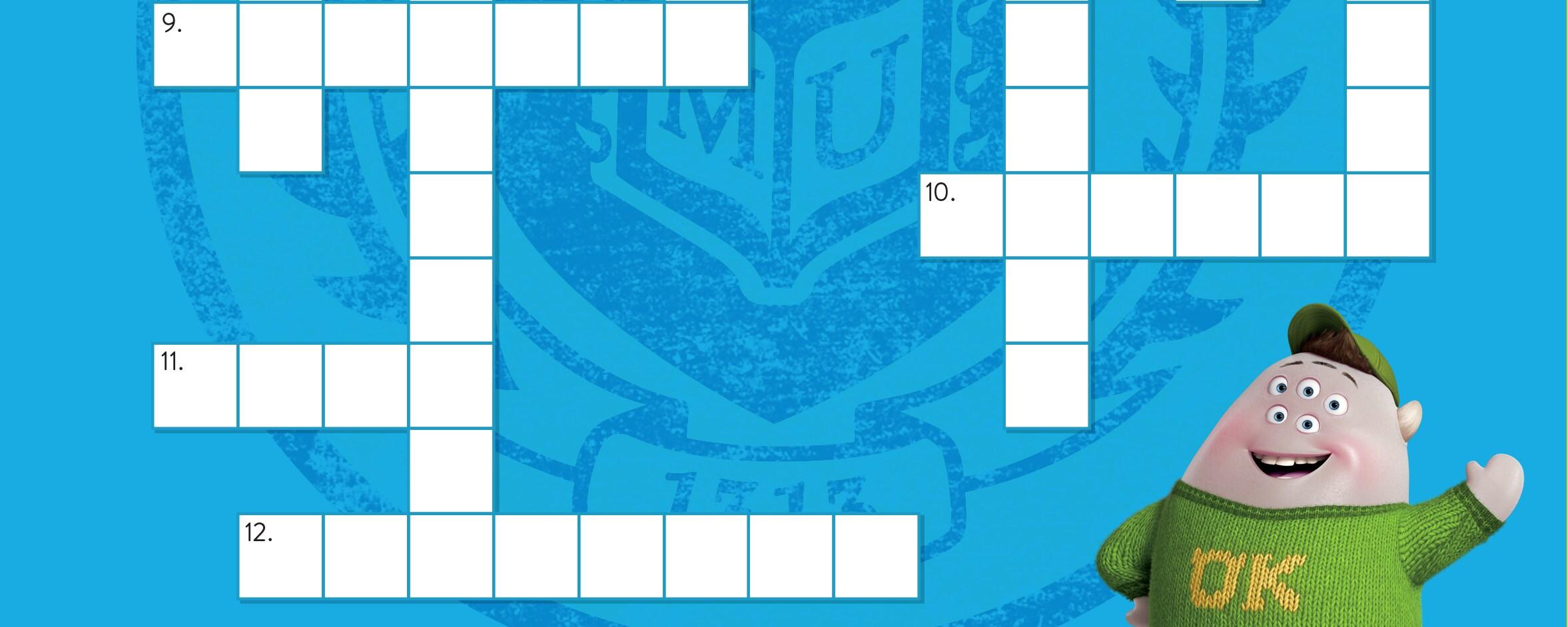 pixar crossword puzzle
