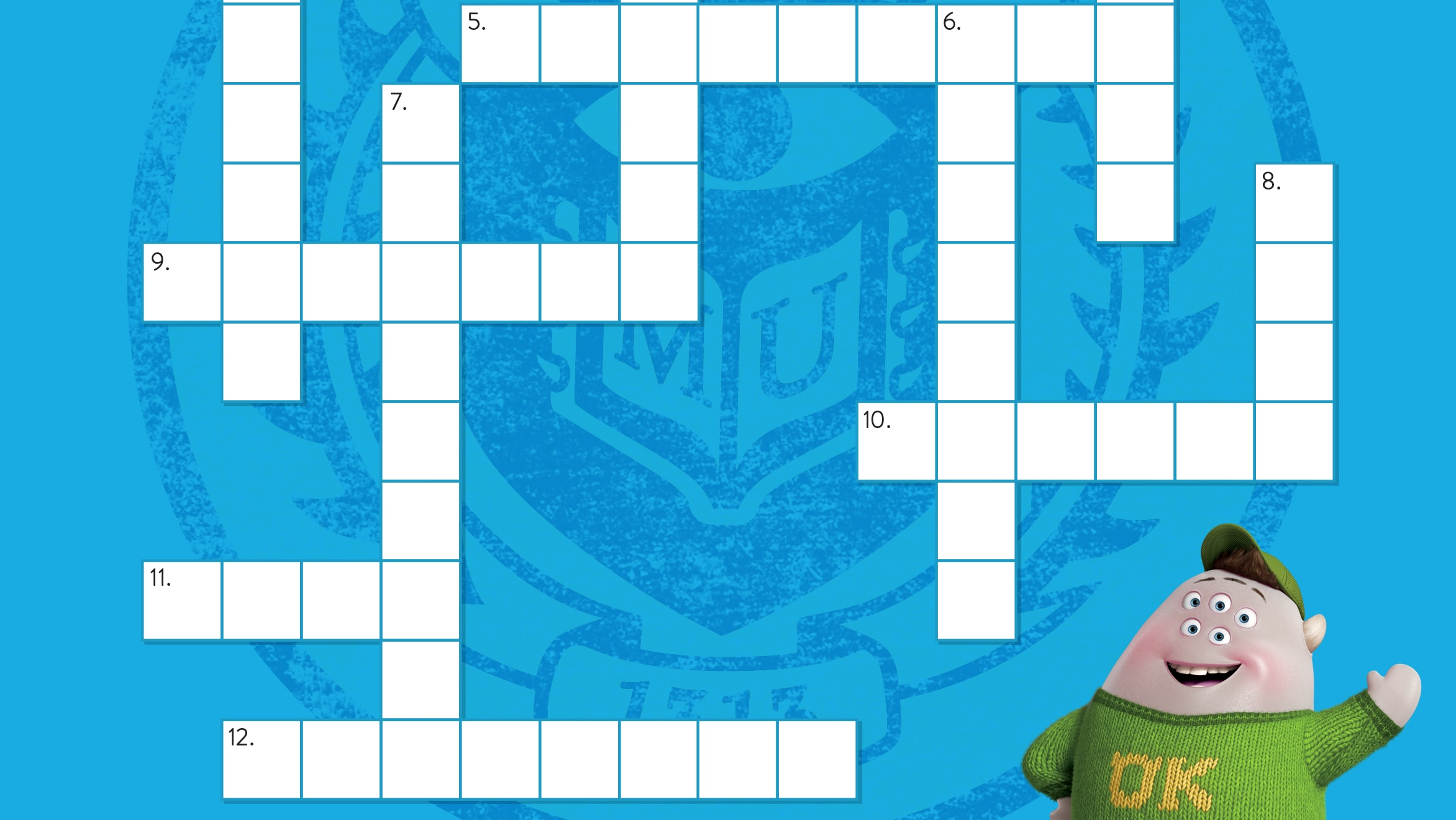 Calling All Wordsmiths! You've Got to Try This Pixar Crossword Puzzle