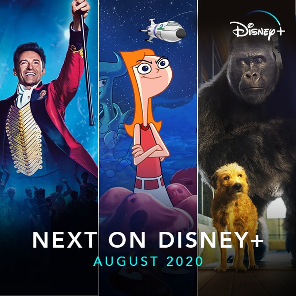 Everything New on Disney+ in August