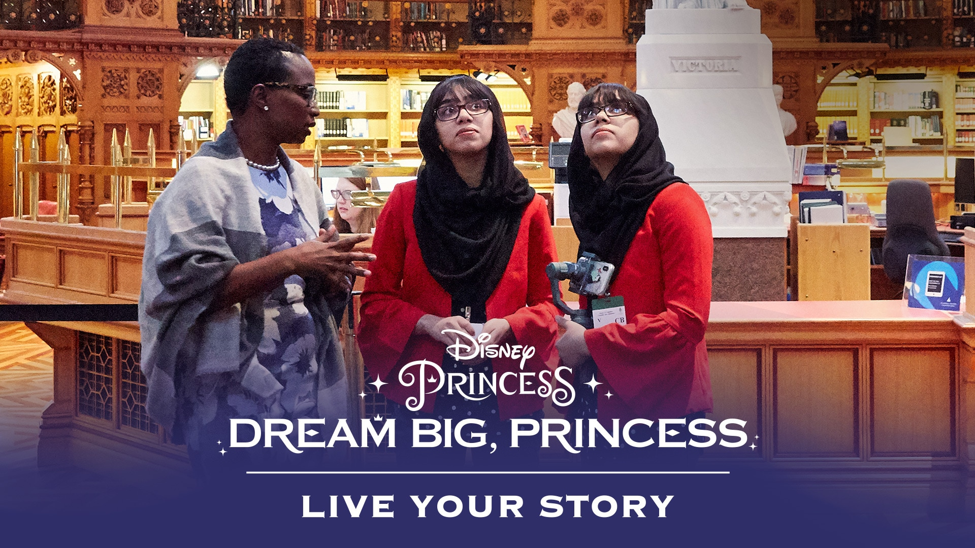 Dream Big, Princess - Maryam & Nivaal Meet Celina Caesar-Chavannes | Disney