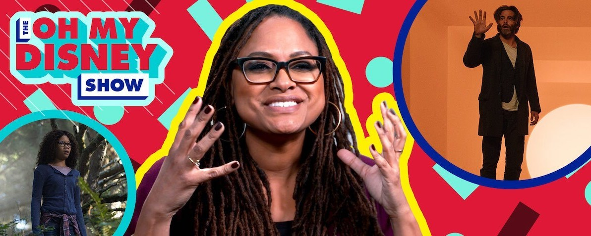 Screengrab of Ava DuVernay from an interview about the movie A Wrinkle In Time
