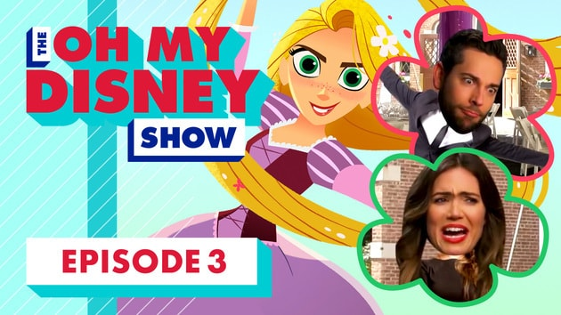 the oh my disney show mandy moore zachary levi and temecula road