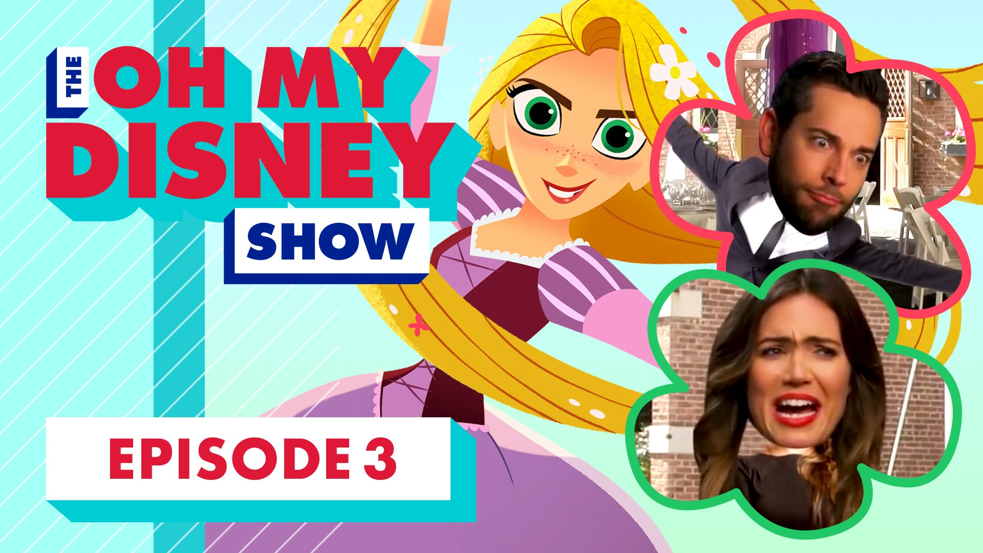 The Oh My Disney Show: Mandy Moore, Zachary Levi, and Temecula Road