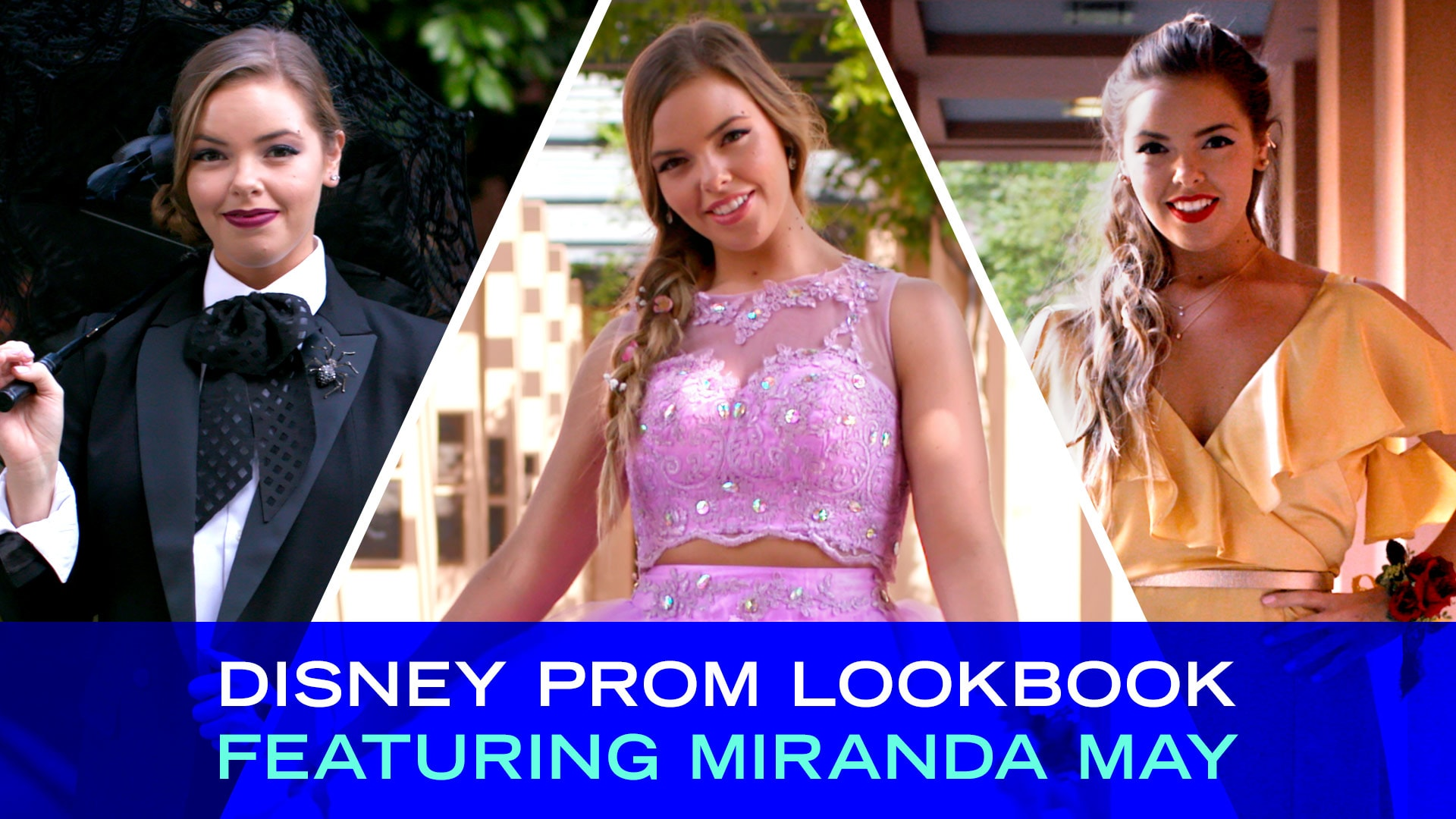 Disney Prom Lookbook Featuring Miranda May