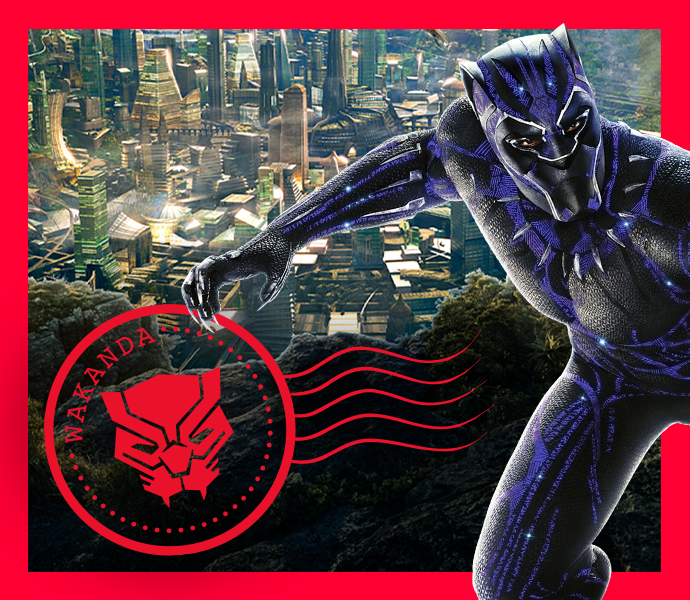 Explore Wakanda from Marvel Studios' The Black Panther with this fun recipe