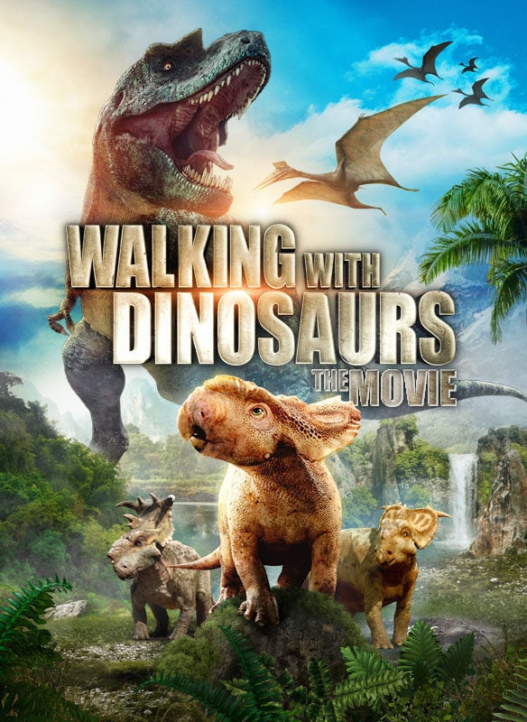 Walking with Dinosaurs movie poster