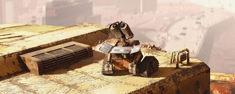 Wall-E from Pixar's WALL-E