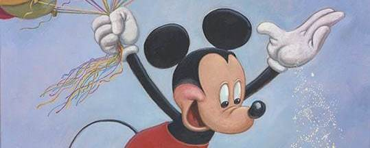 Mickey Mouse's Birthday Portrait