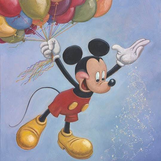 You Have to See Mickey Mouse's Official 90th Birthday Portrait