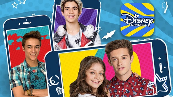 Nueva app de Disney Channel