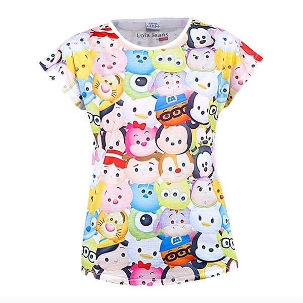 Disney Tsum Tsum Full Printed T-shirt