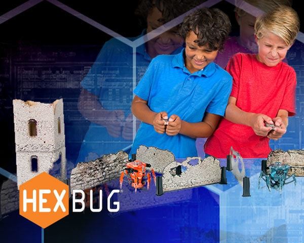 Win Hexbug battle prizes!