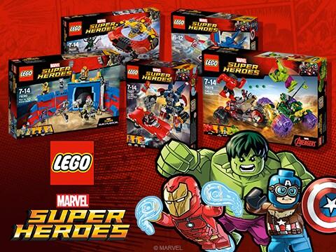 Win LEGO Avengers Prize Bundle!