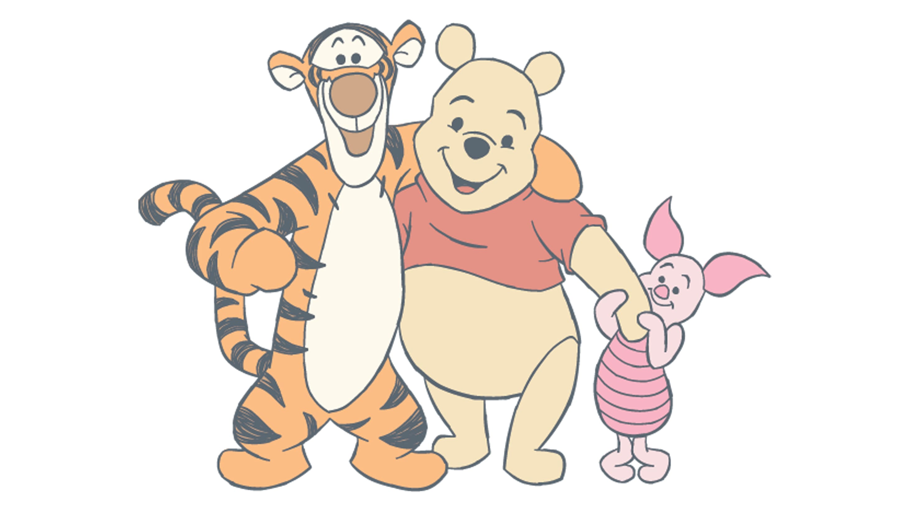 Que tal colorir as aventuras da Turma do Ursinho Pooh?