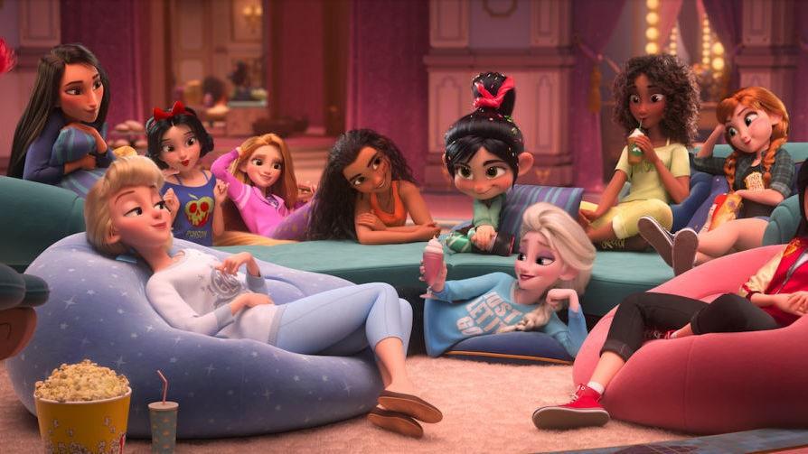 This New Ralph Breaks the Internet Sneak Peek Has More Comfy Princess Looks and We Love Them All