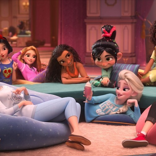 We're Obsessed With the Disney Princesses' Comfy New Looks in Ralph Breaks the Internet