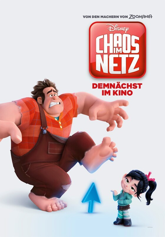 Ralph Breaks the Internet German Poster- Ralph and Vanellope