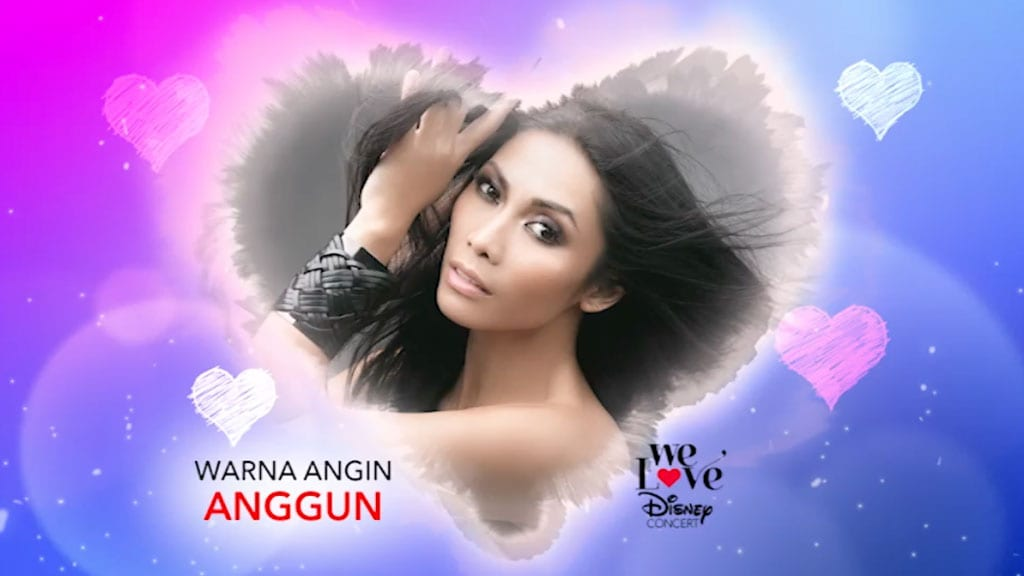 We Love Disney Concert | Warna Angin – Anggun
