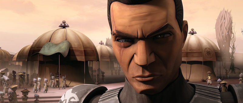 Commander Wolffe without his helmet