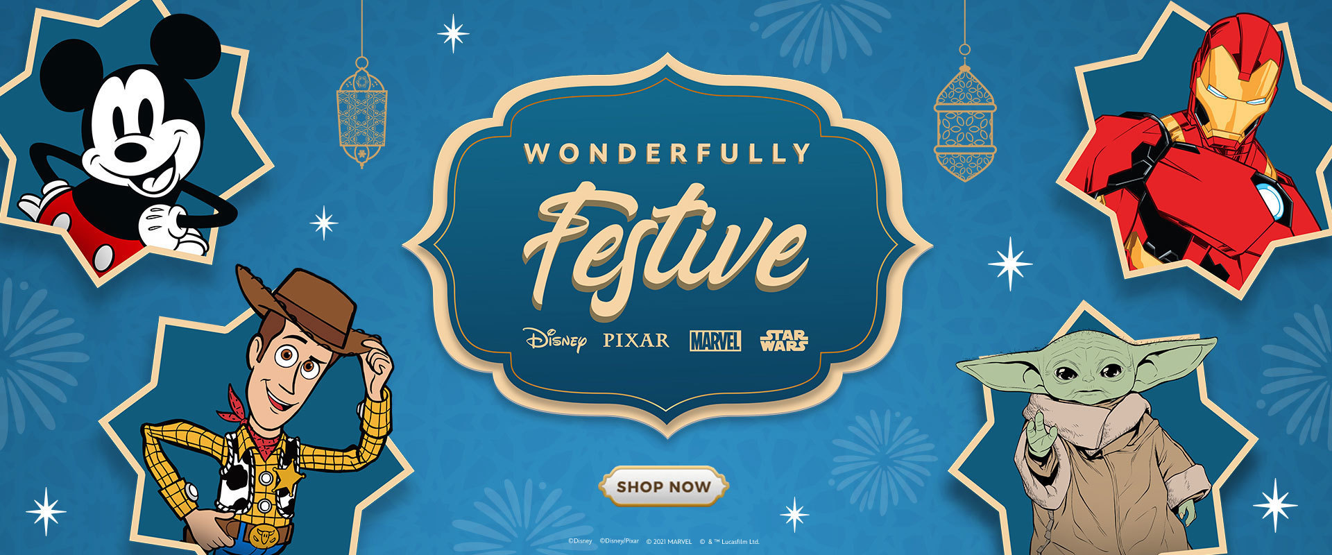 Disney's Wonderfully Festive Hari Raya Promotions