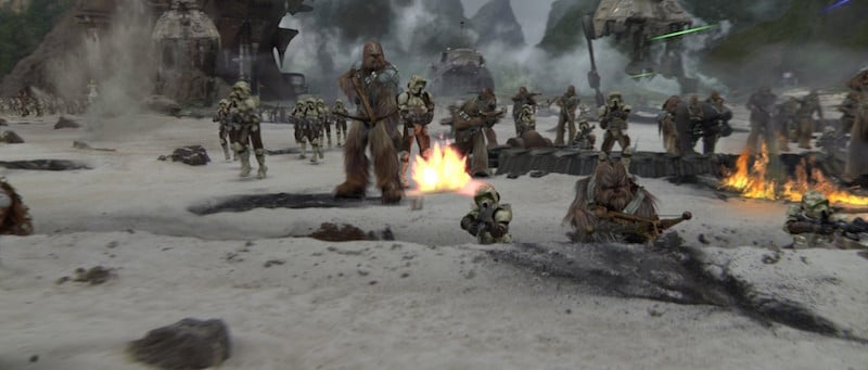 Wookiees defend Kashyyyk
