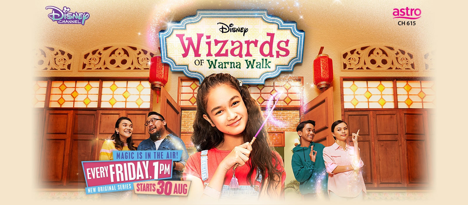 Wizards of Warna Show Page - Animated Banner