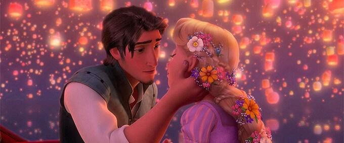 Les moments les plus romantiques des films Disney