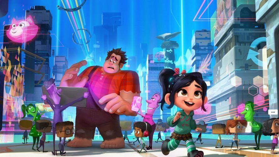 See a Brand New Image from Ralph Breaks the Internet: Wreck-It Ralph 2