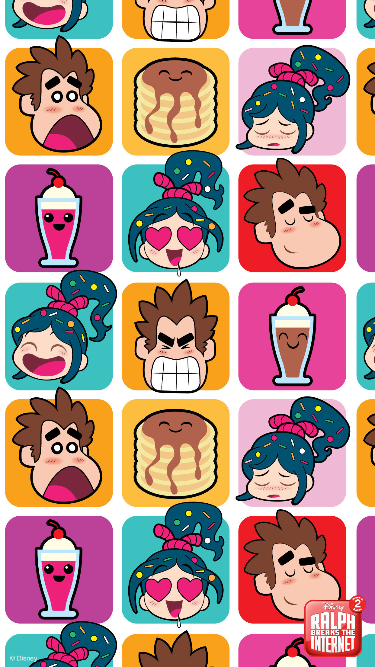 Ralph Breaks The Internet Mobile Wallpapers Disney Singapore