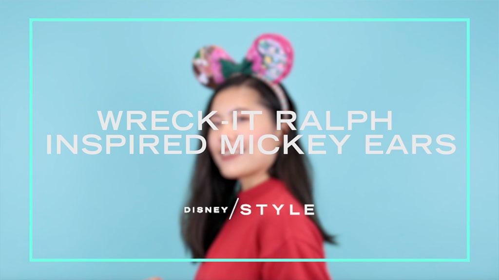 Make These Ralph and Vanellope Inspired Mickey Ears For You and Your Best Pal