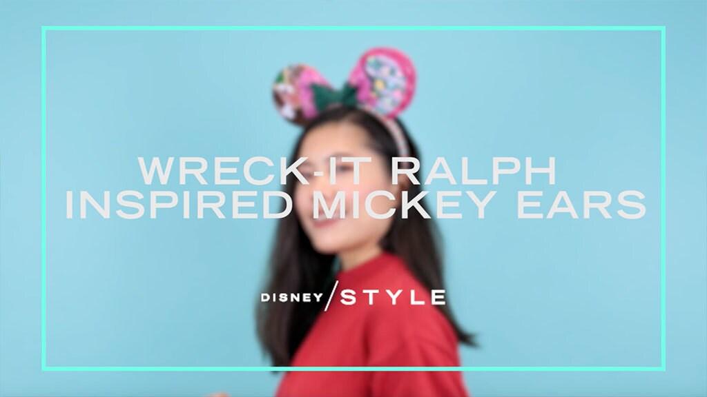 Buat Mickey Ears yang terinsiprasi oleh Ralph dan Vanellope untuk kamu dan sahabatmu!