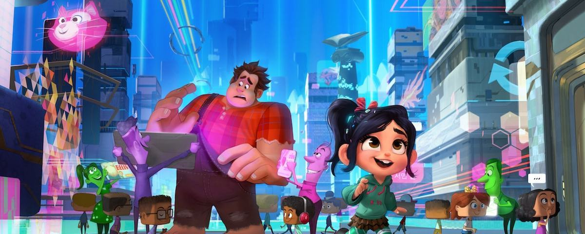 Characters from Ralph Breaks the Internet