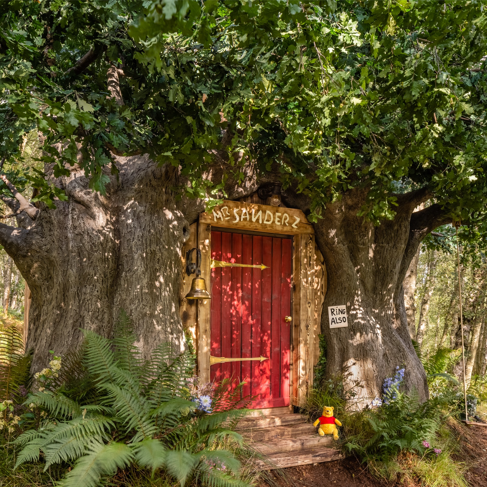 BEARBNB: A House Fit For Disney's Winnie the Pooh in the Original Hundred Acre Wood Lists on Airbnb