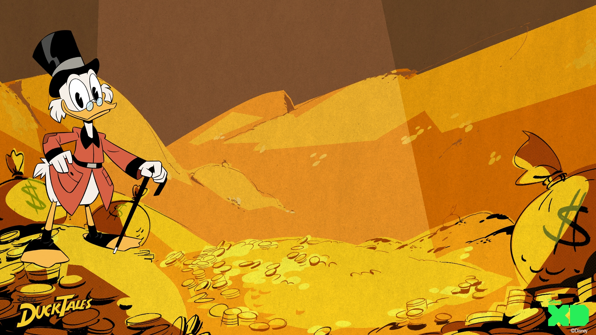 DuckTales Backgrounds