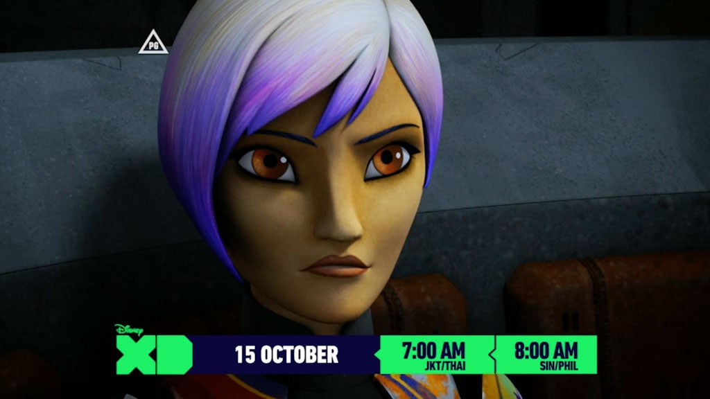 Star Wars Rebels Season 3 | Grand Admiral Thrawn on Disney XD
