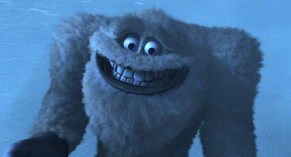 "Yeti from the animated movie ""Monsters, Inc."""