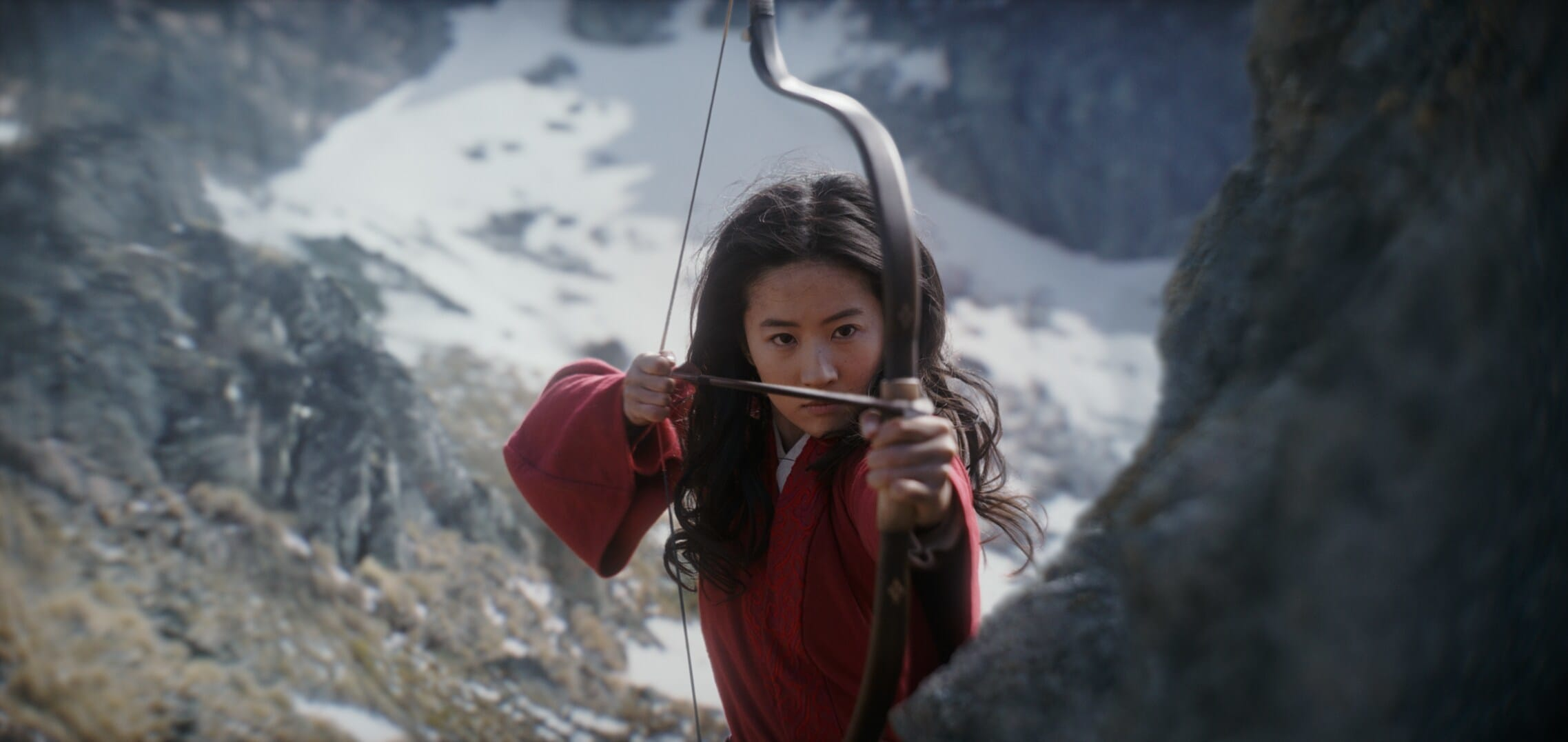 Yifei Liu as Mulan