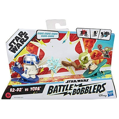 R2-D2 and Yoda Battle Bobblers