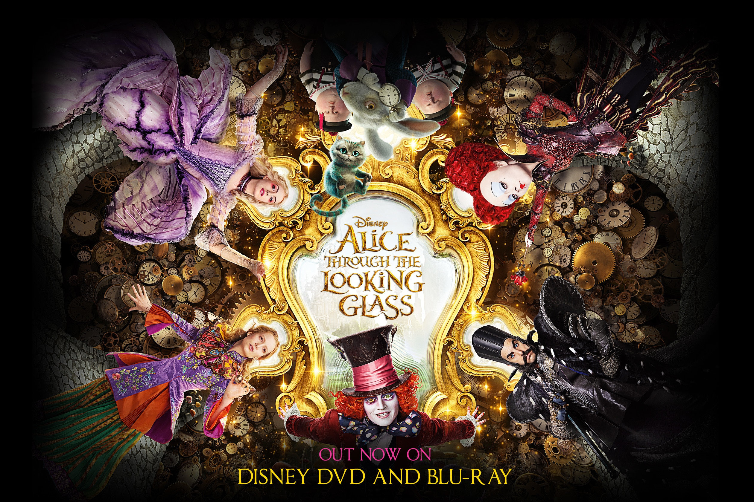 ZA Alice Through the Looking Glass - Poster Flex Hero