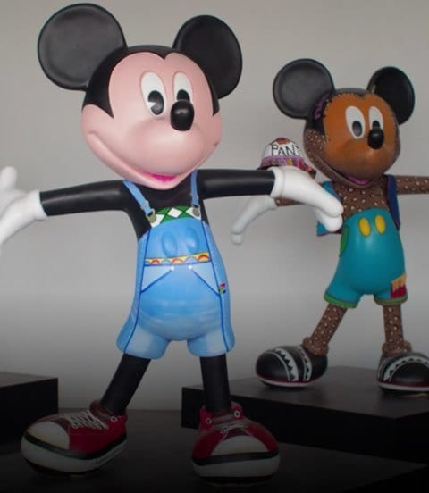Mickey Mouse l Mickey Art Collaboration