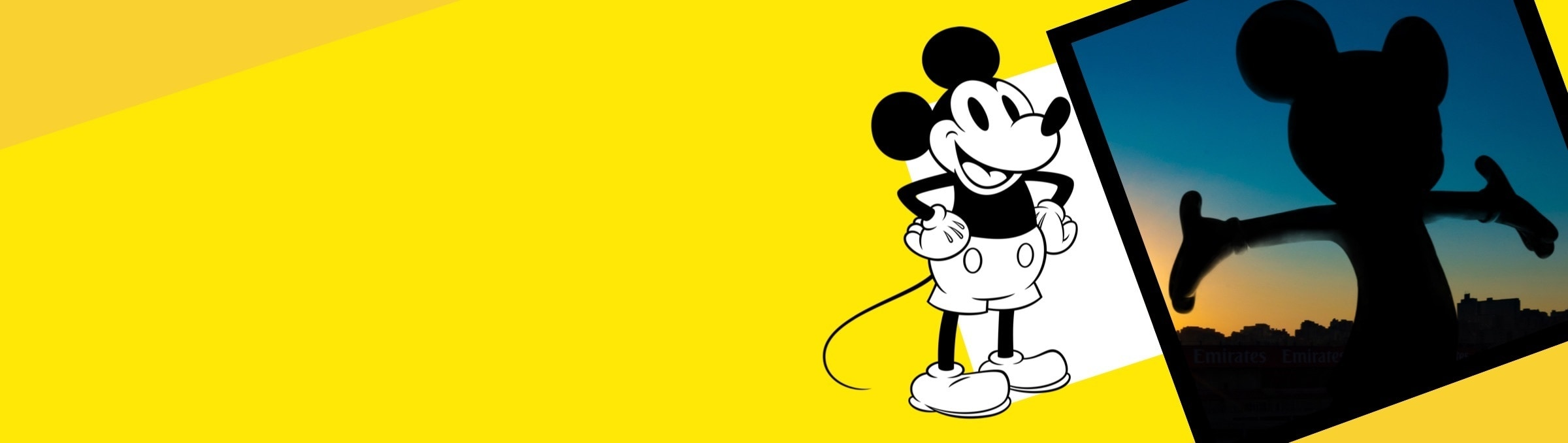 Mickey Mouse M90 art collaboration