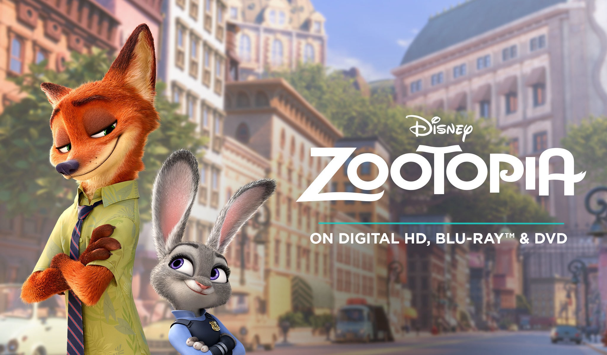Zootopia On BluRay and Digital HD - ID